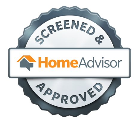 We are proud to be HomeAdvisor Screened & Approved