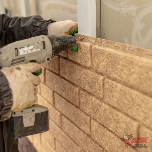 We Install and Repair Siding of All Varieties Like Brick Veneer.