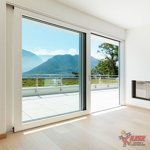 Sliding Windows Open Up on Either Side to Provide Great Ventilation.
