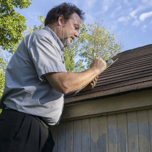 A roof inspection will help determine if it's time for a roof replacement.