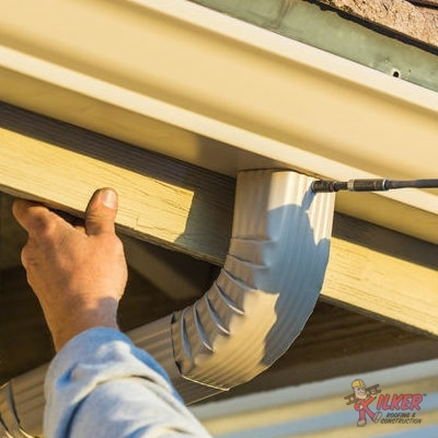 Gutter Installation Like This Is Essential To Drain Water Away From Your Roof.