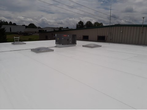 single ply EPDM roofing