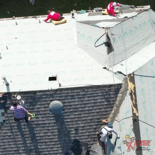 Our Services in Allen, TX, Include Full Roof Replacement.