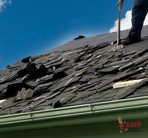 Before Replacing and Repairing Shingles, We Have to Remove Any Old Shingles From the Roof Deck.