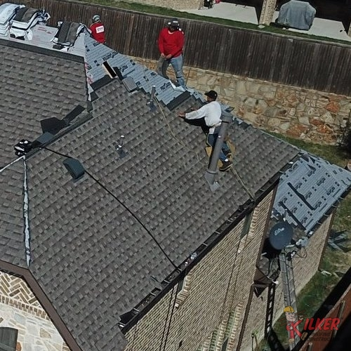Our Roofers Provide Full Service Roofing Like This Roof Replacement in McKinney, TX.